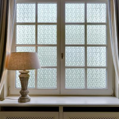 无胶静电防霉抑菌窗帘膜1冰晶窗膜抗紫外线防晒隔热窗花老玻璃膜