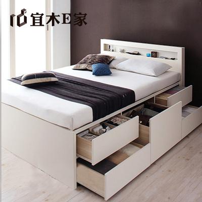 日韩式小户型青年床 储物床收纳床抽屉床 双人单人床 现代简约哪个牌子好