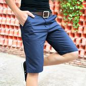 大裤 七分沙滩马裤 休闲短裤 7分裤 潮宽松5分五分中裤 夏季夏天男士