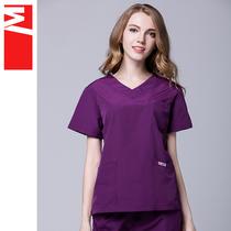 M/每田洗手衣医生手术护士刷手服分体套装涤棉薄款(003#女套装)