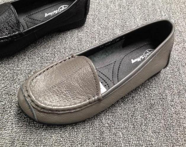 品牌軟面單鞋
