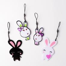 济南公交卡地铁卡企业礼品定制pvc滴胶兔子