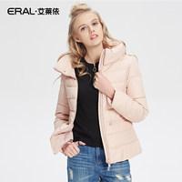 ERAL-艾莱依秋冬立领羽绒服女短款修身显瘦12002-EDAA