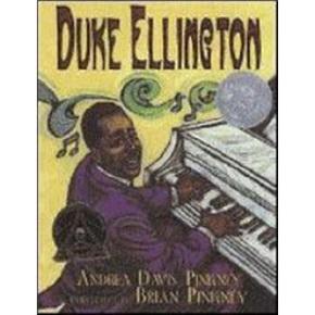 英文原版 Duke Ellington: 钢琴王子和他的乐团 凯迪克大奖绘本