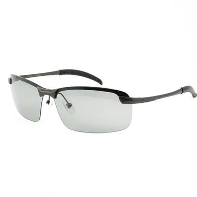 日夜视两用眼镜男开车无框太阳镜浅色偏光镜变色高清驾驶镜领取优惠券