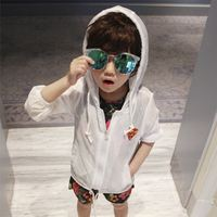 Boys sun protection clothing 2019 new Korean version of breathable summer beach sand baby skin clothing children sun protection clothing
