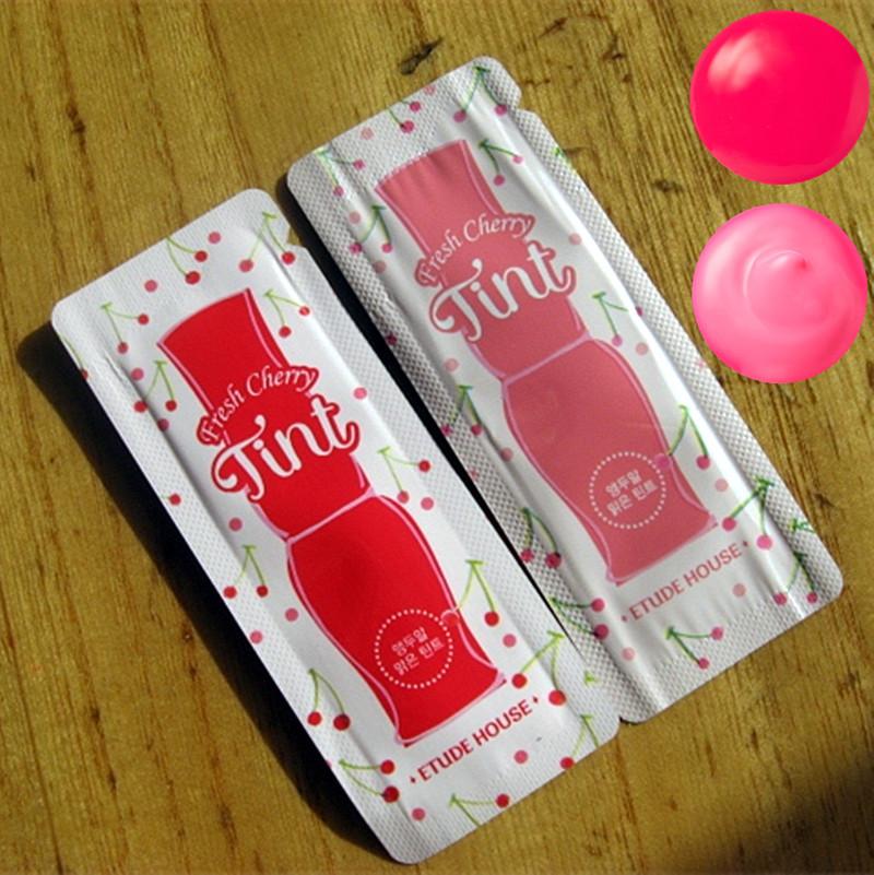 韩国 爱丽小屋牛奶染色唇液唇彩小样 温和润泽