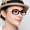山茶花眼镜框女