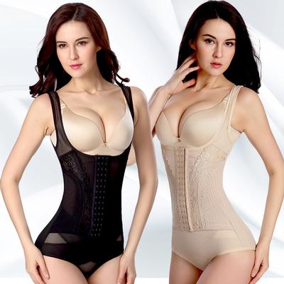 (加强版)无痕连体塑身衣收腹束腰提臀瘦身衣美体塑身内衣束身衣