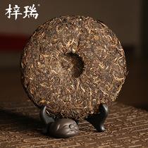 年老茶云南勐海班章老树茶厂2007开业庆典500g梓瑞古树普洱茶生茶