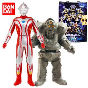 万代奥特曼对战人偶模型软胶怪兽套装因贝莱扎梦比优斯奥特曼玩具