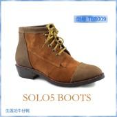 马靴 真皮手工马丁靴 TB8009美国西部牛仔靴