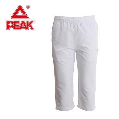 匹克女装运动短裤夏季新款运动裤经典系列舒适透气休闲七分裤2172