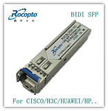 Compatible with CISCO Cisco GLC-FE-100BX-D 100M single fiber Tx1550 BIDI 10km LC