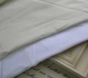 DIY服装辅料布料白色薄棉布裙子衣服衬里布1.4米门幅2.4元半米
