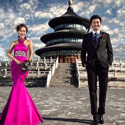 北京蒙娜丽莎婚纱照团购拍婚纱照摄影工作室旅拍结婚照韩式