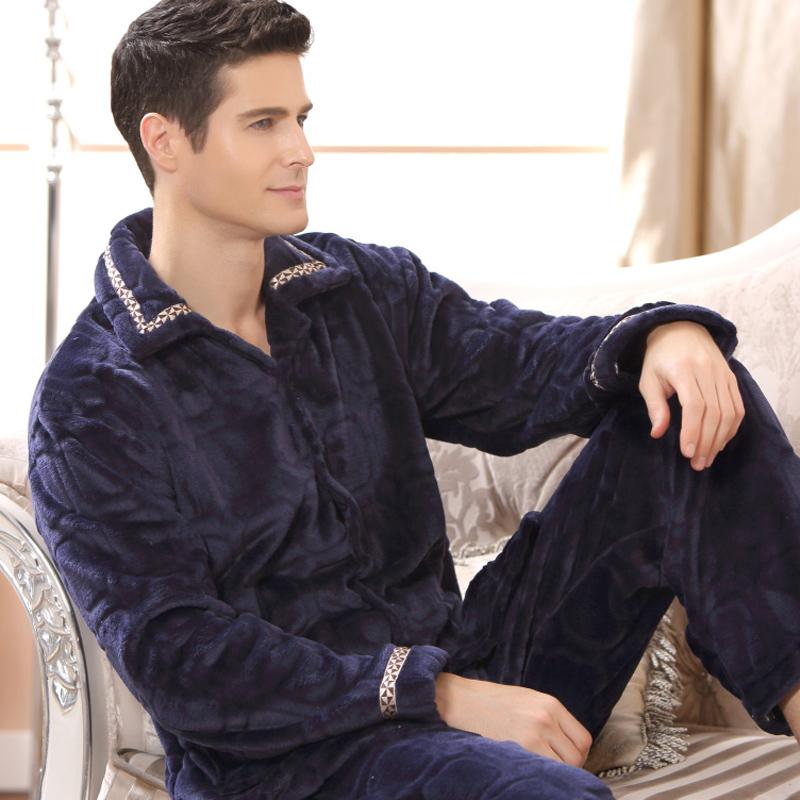 珊瑚绒水貂绒睡衣