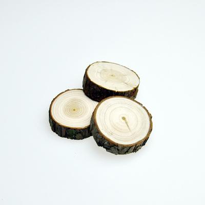 [原木小木墩]苏朵●自然ZAKKA小木桩摆件羊毛毡戳戳乐玩偶底座