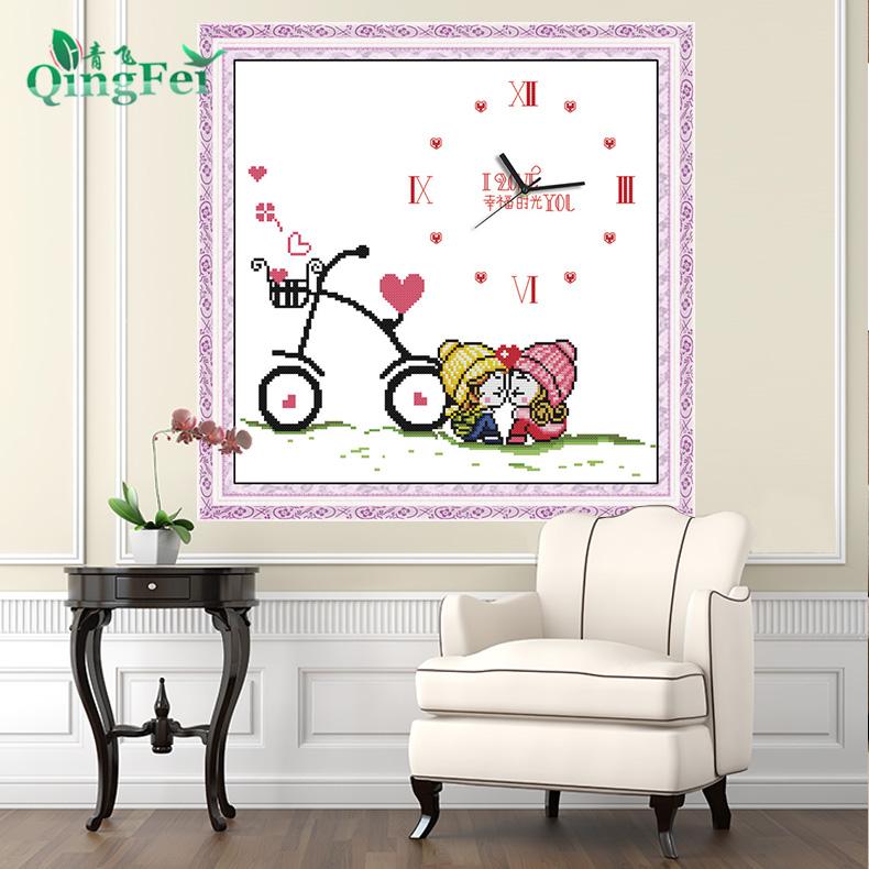 十字绣自行车