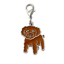 Dog Tag Pendant Puppy Necklaces Cute Jewelry Pet Accessories