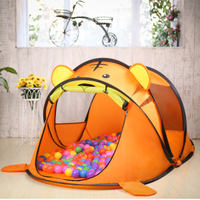 Children's tent indoor and outdoor Christmas big house princess baby Bobo marine ball pool children's toy play house