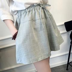 棉休闲裙裤
