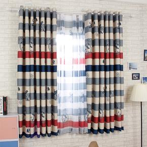 短帘小窗户窗门隔断帘子厨房卫生间免打孔窗帘成品小清新布艺