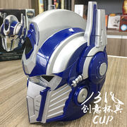 Creative Funny Transformers Optimus Prime Hornet Auto Man Cup Stainless Steel Inner Insulation Cup Coffee Cup