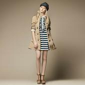 2013女装秋装新款女装中长款风衣女修身春秋外套女式风衣大衣