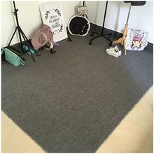 店鞋 灰色拍照地毯定制办公室满铺摄影大地毯卧室服装 子衣服背景布