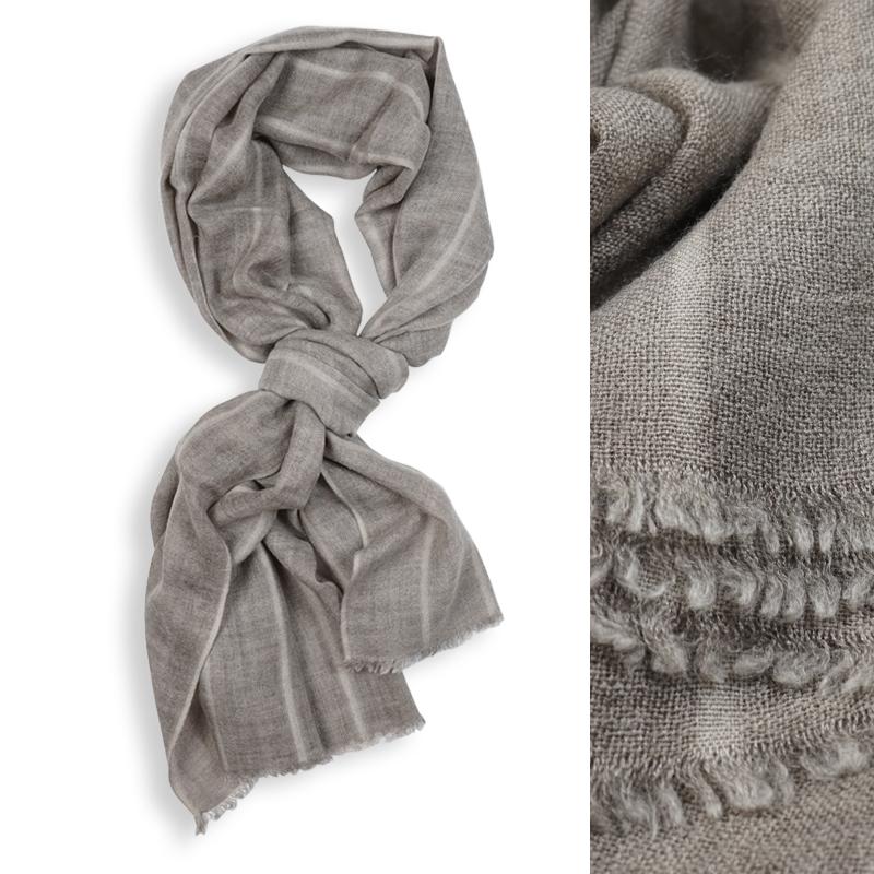 穗纯羊毛围巾
