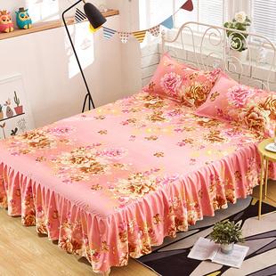 帅伊床裙席梦思韩式床罩 床套单件 床单床笠床盖1.8/1.5/1.2米