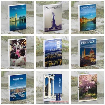 世界各地风景明信片伦敦威尼斯巴黎迪拜东京创意文艺旅行明信片
