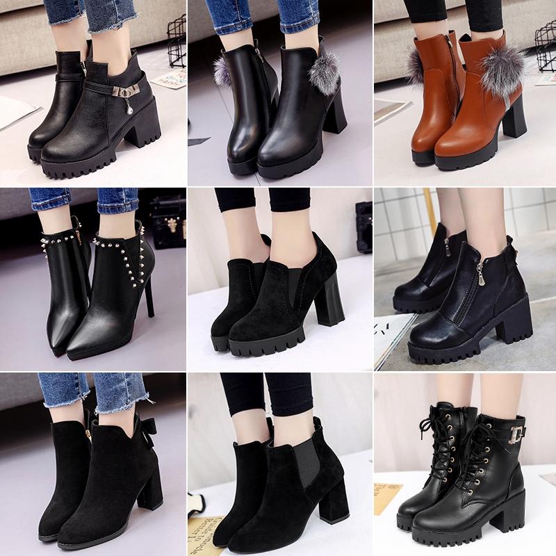 馬丁靴厚底女冬