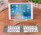 全新超薄折叠式迷你兼容笔记本安卓手机平板无线蓝牙键盘