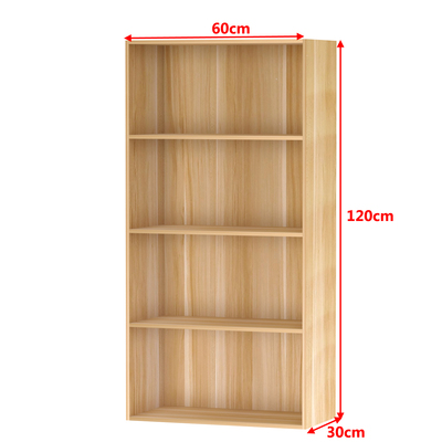 加大时尚简易书柜书架收纳柜子简约现代小木柜子自由组合置物柜
