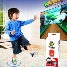 Boys dazzle small frog body game console children's amusement machine toy sports learning parent-child interaction early education Yixin
