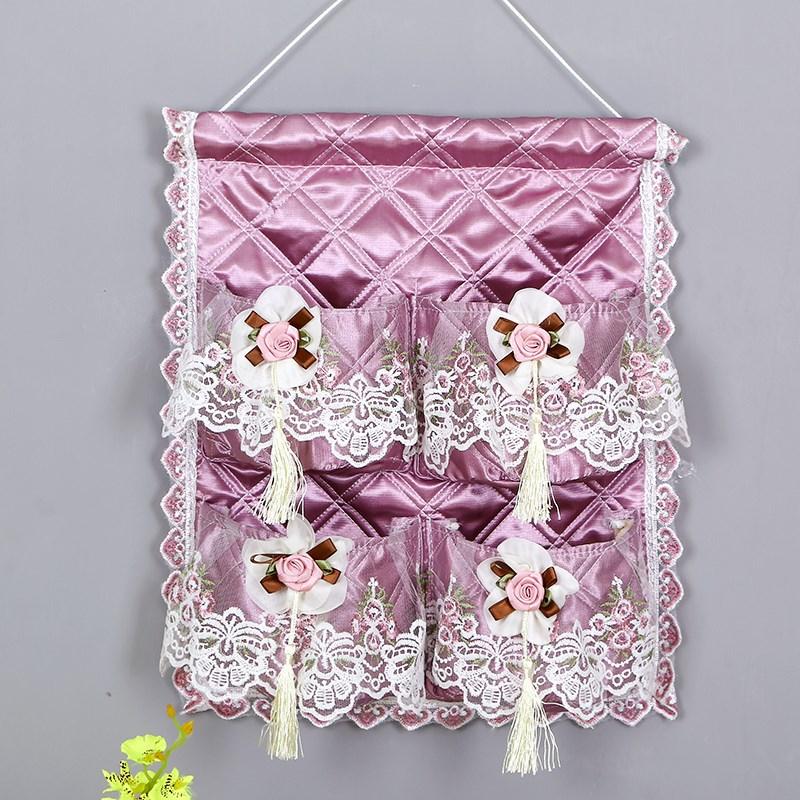 收纳袋挂袋家居宿舍近视挂墙挂式门后寝室卧室衣柜神奇布艺储物袋