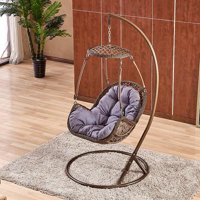 阳台吊篮秋千藤椅懒人家用鸟巢吊椅成人吊床躺椅室内摇篮椅单人