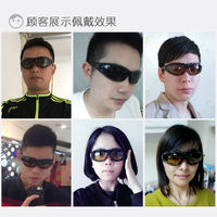 Men and women outdoor polarized sunglasses sports riding glasses night vision dust-proof sand goggles motorcycle windshield