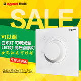 Tcl Legrand Escape 86 panel dimmable led brightness adjustment thyristor dimmer stepless dimmer switch