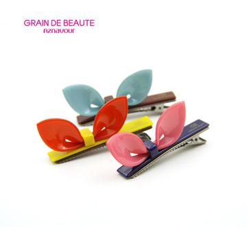 韩国进口Aznavour可爱兔耳朵鸭嘴夹发夹发卡小巧刘海夹边夹发饰大