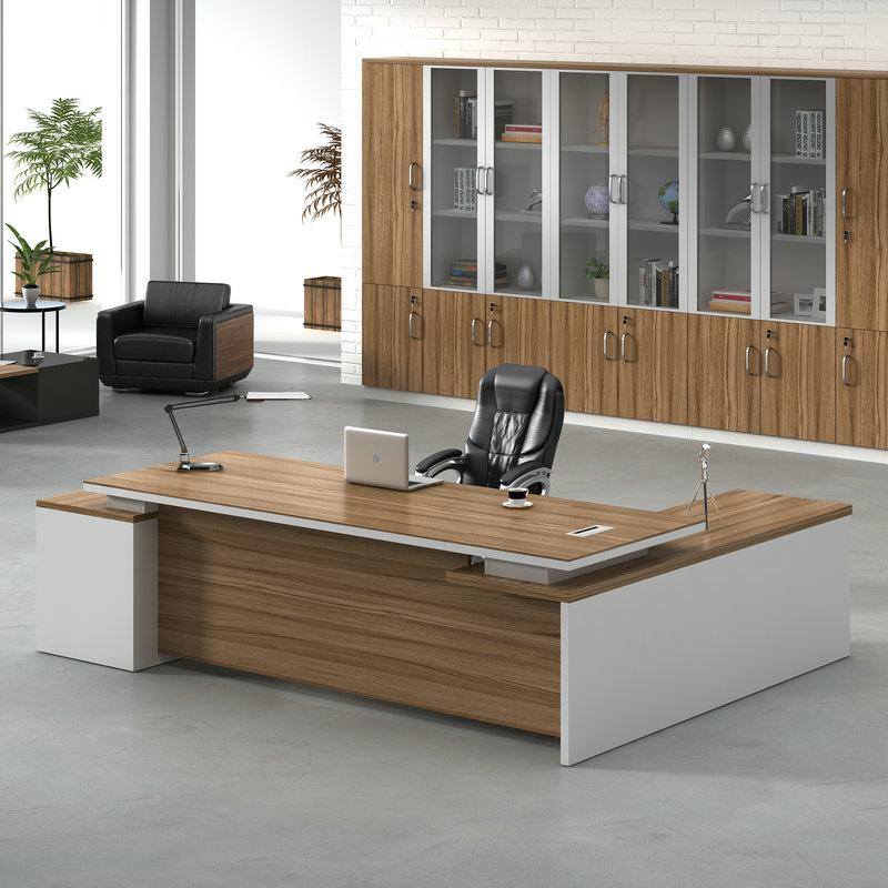 上海办公家具老板桌椅组合