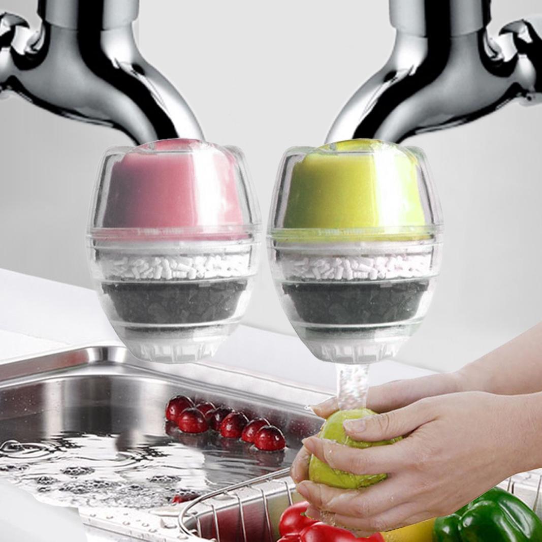 亏本买1发2家用过滤器厨房水龙头净水器丸增自来水滤水器除余氯味