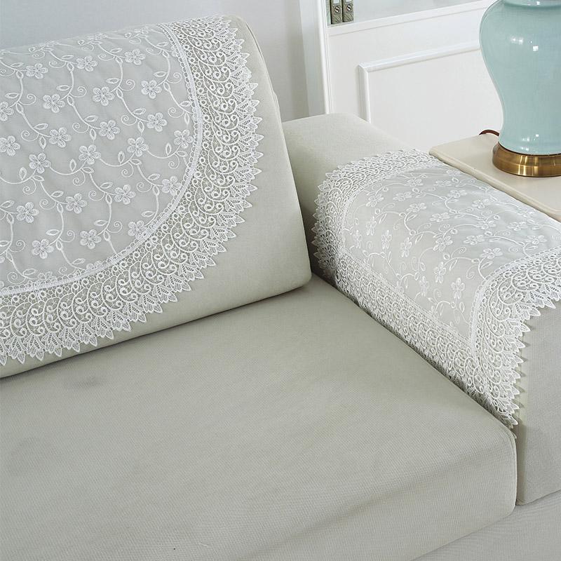 沙发扶手巾美式