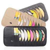 Car CD clip Car CD package Multi-function sun visor cover CD clip car CD disc clip storage bag