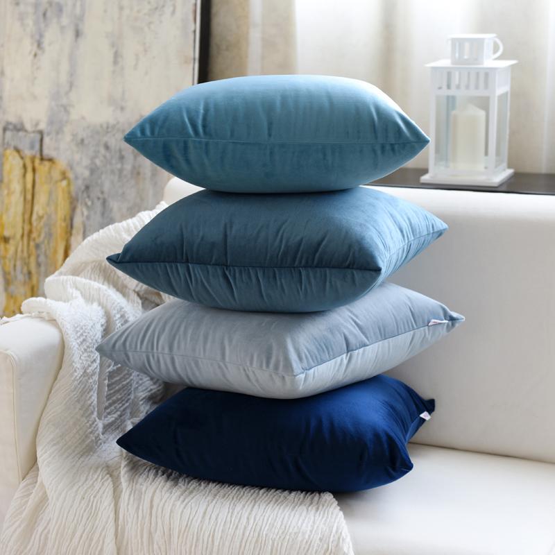 床上靠垫套