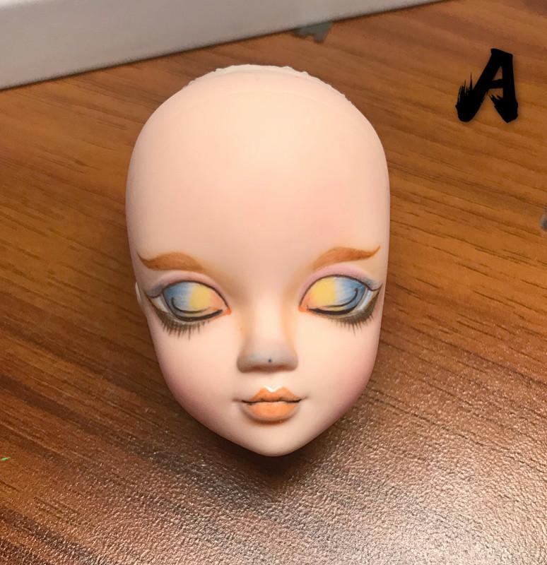 芭比娃娃开眼