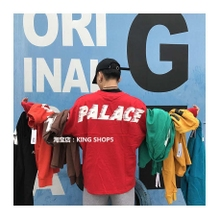 PALACE FAST HEAVYWEIGHT T-SHIRT蝙蝠袖男女长袖OVERSIZET恤卫衣