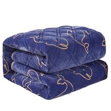 冬季家品罗兰家纺法兰绒毛毯床单加厚单双人珊瑚绒床单法莱绒毯子